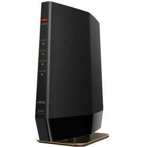 バッファロー WSR-5400AX6-MB Wi-Fi 6(11ax)対応 無線LANルーター プレ...
