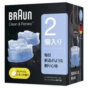 ブラウン CCR2CR クリーン&リニューシステム専用洗浄液カートリッジ メンズシェーバー用...
