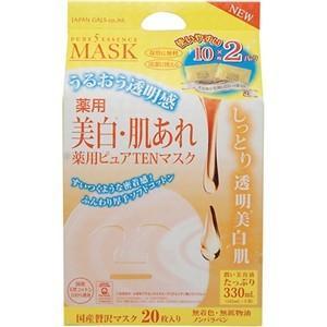 ピュアファイブ エッセンスマスク 薬用ピュアTENマスク 美白・肌あれ (20枚)|yamada-denki