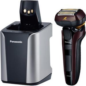 パナソニック ES-CLV7C-T メンズシェーバー 「ラムダッシュ」(5枚刃) 全自動洗浄充電器付 茶|yamada-denki