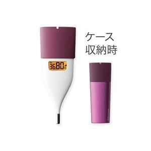 オムロン MC-652LC-PK 婦人用電子体温計 ピンク 体温計 婦人用体温計の画像