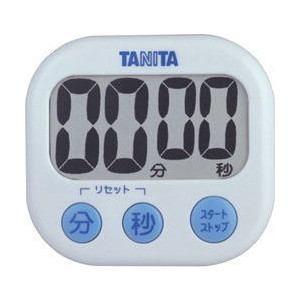 TANITA(タニタ)TD-384-WH デジタルタイマー でか見えタイマー(ホワイト) yamada-denki