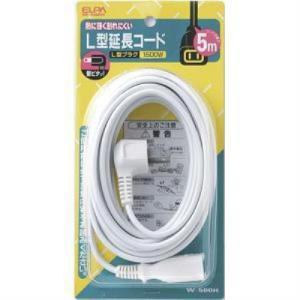 エルパ W-500H L型延長コード 5m|yamada-denki