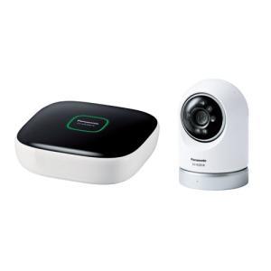 パナソニック KX-HC600K-W 屋内スイングカメラキット(ホームユニット+屋内スイングカメラ)|yamada-denki