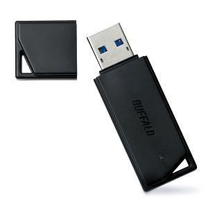 BUFFALO USBメモリ シンプル&コンパクトUSB3.0対応モデル RUF3-K8GA-BK|yamada-denki