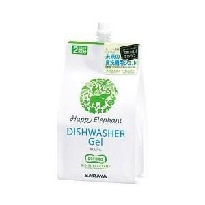 サラヤ HR-800 食器洗い機専用 ジェル洗剤 (詰め替え用 800ml)|yamada-denki