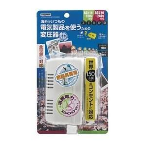 ヤザワ HTDM130240V1500W 海外旅行用 マルチプラグ変圧器 (1500W)|yamada-denki