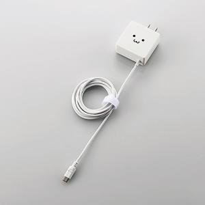 エレコム MPA-ACMBC154WF AC充電器 ホワイト yamada-denki