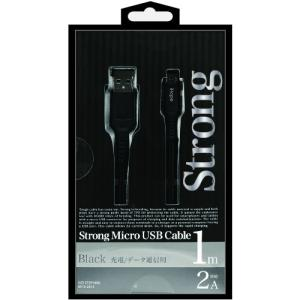 オズマ IUD-STSP100K スマートフォン用 USBケーブル  1m ブラック<br&g...