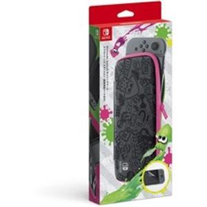 任天堂 Nintendo Switchキャリングケース スプラトゥーン2エディション(画面保護シート...
