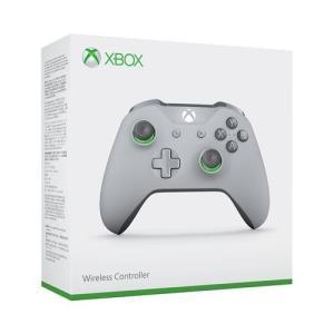 Xbox ワイヤレス コントローラー (グレー/グリーン) WL3-00062|yamada-denki