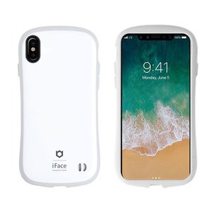 Hamee 41-889237 iPhone X専用 iFace First Classケース ホワイト/グレー|yamada-denki