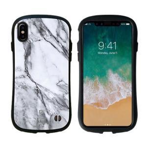 Hamee 41-889701 iPhone X専用 iFace First Class Marbleケース ホワイト|yamada-denki
