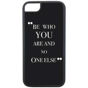 ケースオクロック WL67-WHO iPhone 8/7 ケース WAYLLY Be Who You Are And No One Else 壁に張り付くケース|yamada-denki