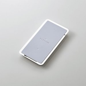 elecom(エレコム) W-QS02WH Qiワイヤレス充電器 W-QS02シリーズ ホワイト|yamada-denki