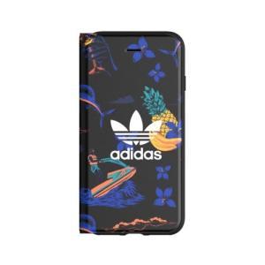 adidas OR-Beach-Booklet case-iPhone 6/6S/7/8-Black 30934 30934|yamada-denki