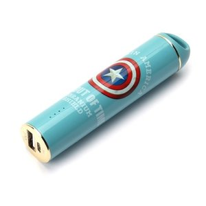 PGA PG-DLB657CTA MARVELモバイルバッテリー iCharger 3350mAh キャプテン・アメリカ yamada-denki