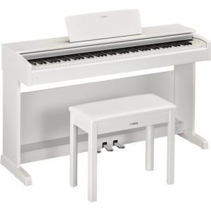 ヤマハ YDP-143WH 電子ピアノ 「ARIUS(アリウス)」 ホワイトウッド調仕上げ|yamada-denki