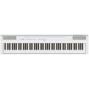 ヤマハ P-125WH 電子ピアノ Pシリーズ ホワイト|yamada-denki