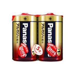 パナソニック アルカリ乾電池単1形2本パック LR20XJ/2SE<br>070