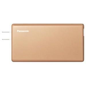 パナソニック QE-AL202-N スマートフォン対応ACモバイルバッテリー 3760mAh (ゴールド)|yamada-denki