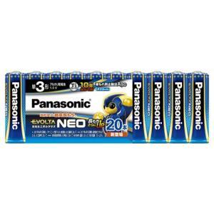 パナソニック LR6NJ/20SW 単3形乾電池 「エボルタネオ」 20本パック