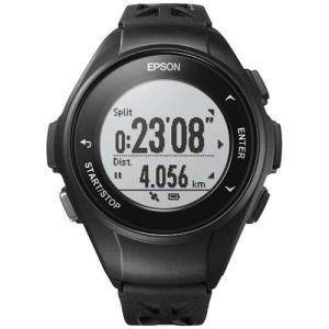 エプソン Q-10B GPSランニングウオッチ 「Wristable GPS(リスタブルGPS)」 ブラック|yamada-denki