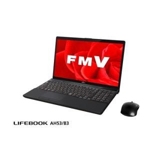 富士通 FMVA53B3B ノートパソコン FMV LIFEBOOK AH53/B3 ブライトブラック|yamada-denki