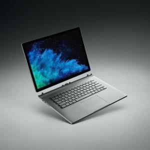 マイクロソフト HNR-00010 Surface Book 2 15インチ Core i7/16GB/256GB dGPUモデル   シルバー|yamada-denki