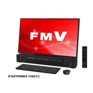富士通 FMVF90C3B デスクトップパソコン FMV ESPRIMO FH90/C3  オーシャンブラック|yamada-denki