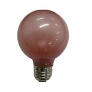 旭光電機工業 G70110V40W(R) 特殊電球 E26口金 40Wバルーンカラー 1個入り 赤|yamada-denki