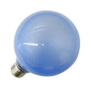 旭光電機工業 G95110V60W(B) バルーンカラー電球 ブルー|yamada-denki