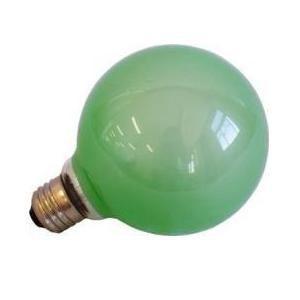 旭光電機工業 G95110V60W(G) バルーンカラー電球 グリーン|yamada-denki