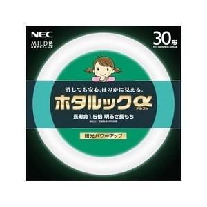 NEC 30形丸形蛍光灯・MILD色(昼白色) ホタルックアルファ FCL30ENM/ 28-SHG-A|yamada-denki