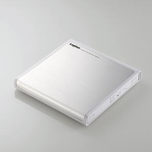 ロジテック LDR-PMJ8U2VWH USB2.0ポータブルDVD編集再生書込ソフト付き ホワイト|yamada-denki