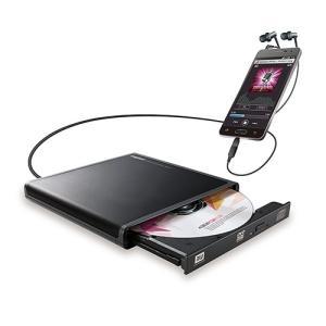 ロジテック LDR-PMJ8U2RBK Android用CD録音ドライブ BK|yamada-denki