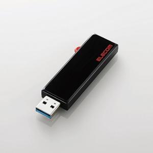 エレコム MF-KCU3A08GBK スライド式USBメモリ 8GB ブラック|yamada-denki