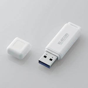 エレコム MF-HSU3A16GWH バリュータイプUSB3.0メモリ 16GB ホワイト