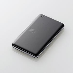 エレコム ESD-ED0480GBK USB3.1(Gen1)対応外付けポータブルSSD 480GB ブラック|yamada-denki