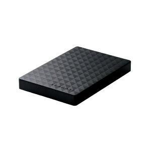 エレコム SGP-MX020UBK 外付けHDD パソコン・デジタル家電用 ブラック ポータブル型 ...
