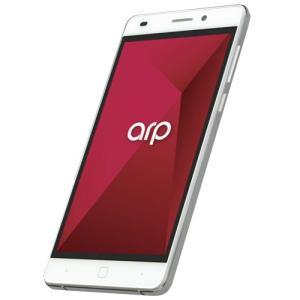 キャセイ・トライテック AS01M(WH) SIMフリースマートフォン 「arp(アープ)」|yamada-denki