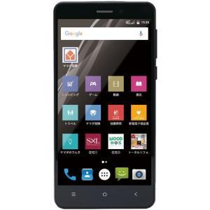 ヤマダ電機オリジナルモデル EP-171EN/B Android搭載SIMフリースマートフォン EveryPhone EN ブラック yamada-denki