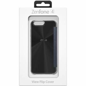 ASUS 90AC02B0-BCV001 ZenFone 4 (ZE554KL)専用ケース View Flip Cover ブラック|yamada-denki