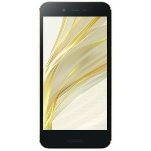 シャープ SH-M05-N SIMフリースマートフォン Android 7.1 5.0型 「AQUOS(アクオス)」 ゴールド|yamada-denki