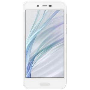 シャープ SH-M05-W SIMフリースマートフォン Android 7.1 5.0型 「AQUOS(アクオス)」 ホワイト yamada-denki
