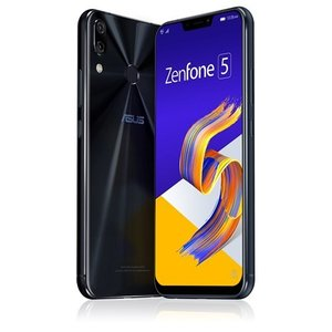 ASUS ZE620KL-BK64S6 SIMフリースマートフォン Zenfone 5 64GB シャイニーブラック yamada-denki