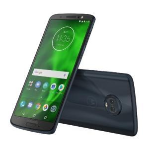 モトローラ PAAG0028JP Android 8.0搭載 メモリ/ストレージ:3GB/32GB SIMフリースマートフォン 「Moto G6」 ディープインディゴ|yamada-denki