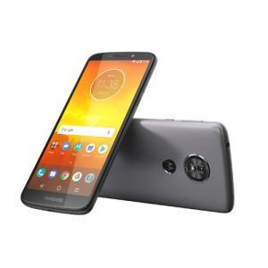 モトローラ PACH0011JP Android 8.0搭載 メモリ/ストレージ:2GB/16GB SIMフリースマートフォン 「Moto E5」 フラッシュグレー yamada-denki