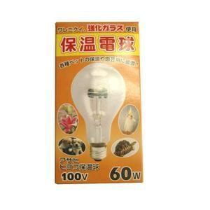 旭光電機工業 100V60WPS80E26 保温電球 屋内用 60W|yamada-denki
