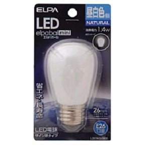 ELPA LDS1N-G-G900 LED電球 「サイン球形」(昼白色・口金E26) yamada-denki